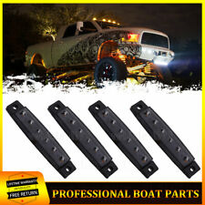 4 pods Smoked Lens Led Rock Light for Jeep Off Road Truck Car Atv Under Wheel (Fits: Truck)