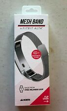 North Mesh Band With Magnetic Clasp For Fitbit Alta Steal Silver New