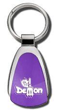 Dodge Dart Demon Purple Teardrop Keychain Key Chain Fob Ring