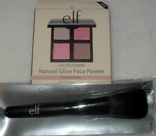 New ELF Natural Glow Face PALETTE 'Fresh & Flawless' & Complexion BRUSH e.l.f.