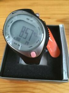 NEW in box Nike Triax Speed 100 lap watch regular size womens running black/pink