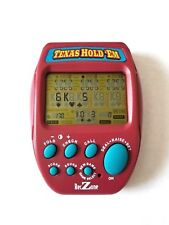 CasinoTexas Hold 'Em Reczone electronic Handheld Game (Pre-owned )