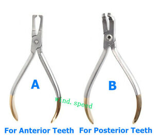 Dental Orthodontic Bracket Removing Pliers Forceps For Anterior/Posterior Teeth