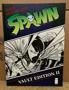 SPAWN VAULT EDITION HARDCOVER VOL 2 SIGNED BY TODD MCFARLANE ~ ARTIST EDITION