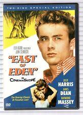 EAST OF EDEN - DVD A - JAMES DEAN - JULIE HARRIS - RAYMOND MASSEY - 1955