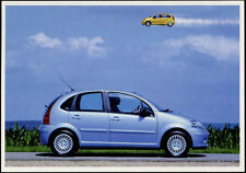 cartolina pubblicitaria PROMOCARD n.2835  CITROEN C3 AUTOMOBILE  collection n.1