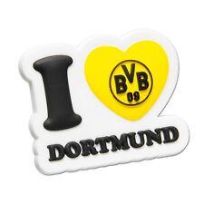 "BVB Magnet 3D BVB-Magnet ""I love BVB"" Borussia Dortmund 3D Kühlschrankmagnet"