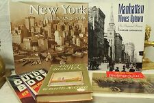 lot books New York then and now Manhattan moves uptown illustrated history