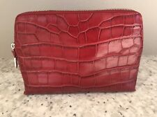 Brighton B Wishes Large Cosmetic Pouch, Lipstick Red EUC (MSRP $115)