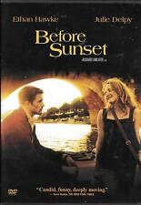 Before Sunset, 2004, Dvd, Widescreen, Drama, R, Ethan Hawke, Julie Delpy