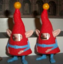 """McDonald's LOT OF 2 Toy Rise of the Guardians ELF FACE CHANGER ACTION TOY 4 """""""