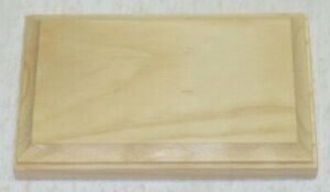 """Unfinished Wood Plaques Choose Your Style 3.5"""" x 5"""" x 3/4"""" USA Product"""