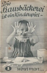 Die Hausbäckerei ist ein Kinderspiel - wenn man...DR. Oetker's Backpulver Backin