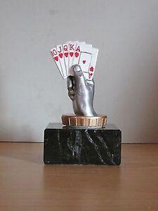 """Einzel-Pokal """"Poker/Skat"""" mit Wunschgravur."""