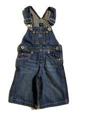 🎼Toddler Polo Ralph Lauren  Denim Overalls Shorts | 12 Months #13