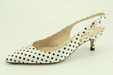 $325 NEW L.K. Bennett Mira Patent Leather Polka Dot Pumps sz 38 LK Bennett
