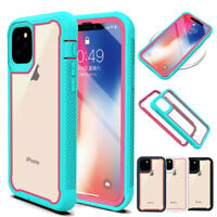 For iPhone 11 Pro Max Hybrid Rugged Heavy Duty Case Bumper Defense Rubber Cover