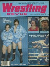 Wrestling Revue Magazine - July 1982 - Rick McGraw / Steve Travis / Hulk Hogan