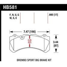 Hawk Performance HB581F.660 (HPS) High Performance Street Disc Brake Pad
