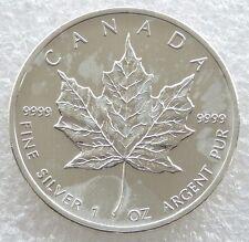 2013 Canada Maple Leaf $5 Five Dollar .9999 Silver 1oz Coin