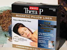 "Therapy Magnetic Pillow Liner 40 Magnets Standard Size 20 x 26"" Homedics - NEW"
