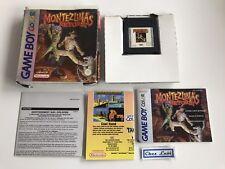 Montezuma's Return - Nintendo Game Boy Color GBC - PAL EUR