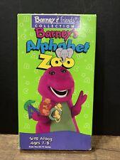 Barney - Barneys Alphabet Zoo 1994 Release VHS Barney & Friends Collection