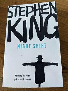 NIGHT SHIFT - STEPHEN KING - Rainbow Hodder 1st Paperback 2007 rare