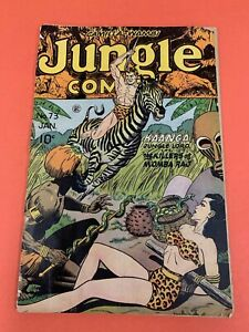 JUNGLE COMICS # 73 (1946) FICTION HOUSE - BONDAGE COVER- LOW GRADE