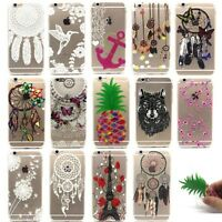 Clear Ultra Thin Soft TPU Silicone Gel Case Cover For Apple iPhone 5s 6 6s Plus