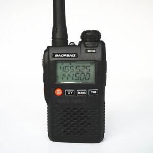 BaoFeng UV-3R 2W Mini Dual Band VHF/UHF Walkie Talkie Two-Way Radios Transceiver