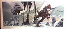 "1980 Ralph McQuarrie Star Wars Empire Stikes Back 10""x21"" Print #12- FREE S&H"