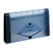 YARONG Expanding 13 Pocket File Coupon Organizer Folder Light Blue T1