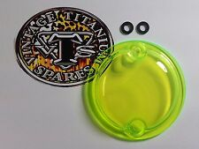 Triumph 650-750 Twins - Acrylic Points Cover - Neon Green Color