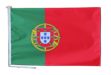 More details for portugal flag with rope and toggle - various sizes