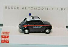 Busch 48728 Fiat 500 Carabinieri  Italian Police NIB