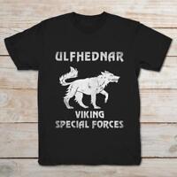 Ulfhednar Viking Special Forces Black T-Shirt S-3XL