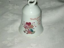 A Vintage 1980 Japanese Fine Porcelain Strawberry Shortcake Collector Bell