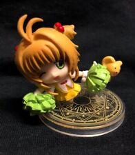 2� Cardcaptor Sakura & Kero Chibi Figurines On Acrylic Stand