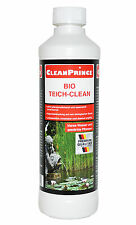 Bio Teich Clean Reiniger bioaktiv biologisch 500 ml Wasser Fische Gartenteich