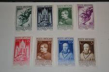 VATICAN 1936 série complète word fair press neufs * cote 80 €