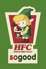 Legend Of Zelda - HFC Hyrule Fried Cucco - So Good KFC Joke Funny