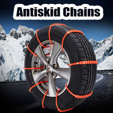 10Pcs Snow Anti-Skid Tyre Tire Chain Thickened Car Truck SUV Winter Driving WYS