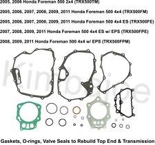 Outlaw Racing Piston Gasket Top End Rebuild Kit 91.96mm Honda Trx500Tm Fourtrax Foreman 2005-2006