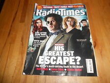 Radio Times Magazine 1-7 October 2011 Doctor Who Dr Matt Smith Karen Gillan
