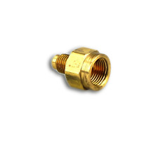 """3/8"""" x 1/4"""" Flare to Internal Flare, Reducing Union Connector Mueller - A 00479"""