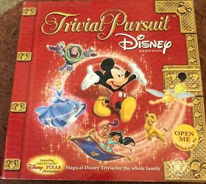 Disney Edition Trivial Pursuit Game In Box 2005 / Rare Board game, all pieces