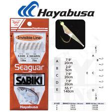 Hayabusa Seaguar Hage Fish Skin Sabiki Fishing Rig Aurora S-650E Select Size