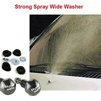 A Pair Universal Mist Type Car Vehicle Front Windscreen Water Washer Spray Jets