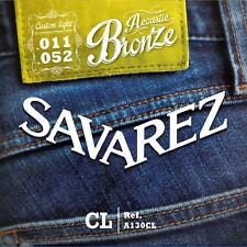 Savarez A130CL Acoustic  extra  light Gitarrensaiten 011 bis 052 Westerngitarre